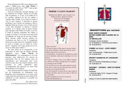 Infos et inscriptions - Paroisse Catholique de Brie-Comte