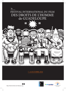 Programme du Festival International du Film des Droits de l`Homme