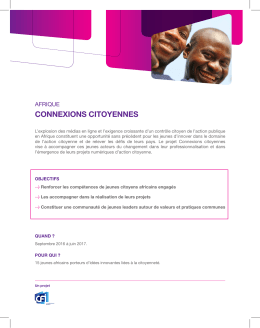 connexions citoyennes