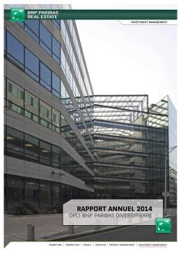 comptes annuels du 31 decembre 2014