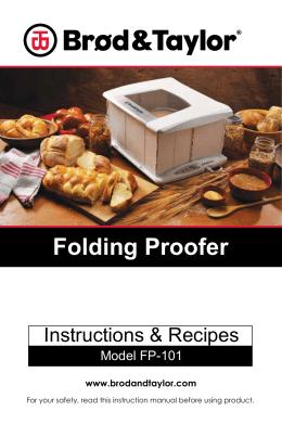 Folding Proofer