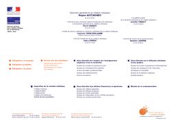 Organigramme DGCA pdf - Ministère de la Culture et de la