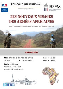 Colloque internationale du 5 et 6 octobre 2016