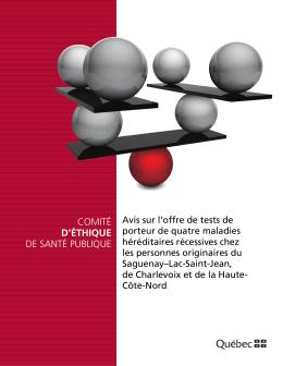 Lire le document - Institut national de santé publique du Québec