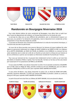 Présentation du Nivernais 2016