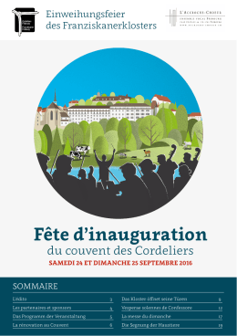 Fête d`inauguration - L`Accroche
