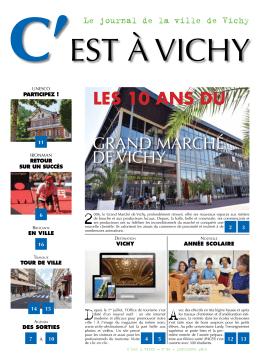 LES 10 ANS DU - Mairie de la Ville de Vichy