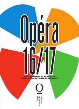 Consulter - Opéra national de Lorraine