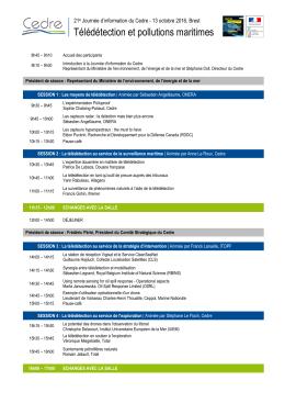 Voir le programme - Technopôle Brest Iroise