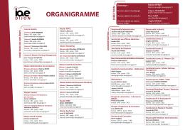 Organigramme IAE DIJON 2016-2017