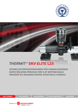 SkV-Elite - Goldschmidt Thermit Group