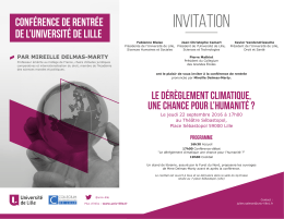 Invitation - Sciences Po Lille