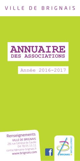 ANNUAIRE - Ville de Brignais