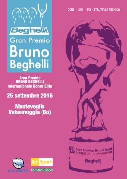 Catalogo Ufficiale G.P. Beghelli 2016 Donne