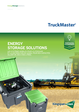 TruckMaster - Kingspan Environmental
