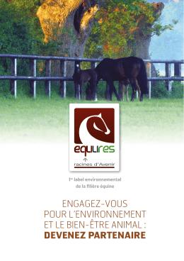 Brochure partenariat EquuRES - Conseil des Chevaux de Normandie