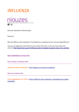 Influenza Niouzes