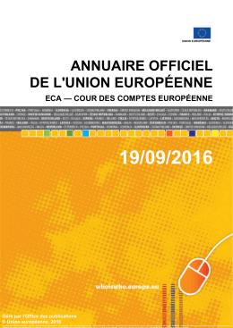 ECA — Cour des comptes européenne