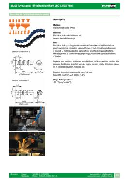 96200 Tuyaux pour réfrigérant lubrifiant LOC-LINE® Flexi