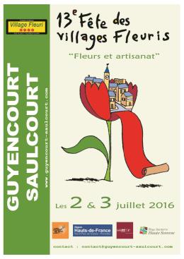 Le programme ici - Guyencourt-Saulcourt