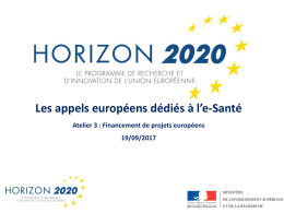 Horizon 2020 - Cap Digital
