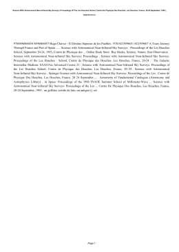 Science With Astronomical Near-infrared Sky Surveys: Proceedings