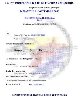Mandat Fédéral - CD94 Comite départemental de tir à l`Arc du Val