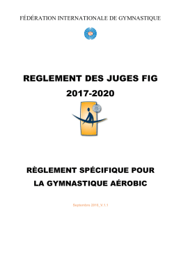 fédération internationale de gymnastique