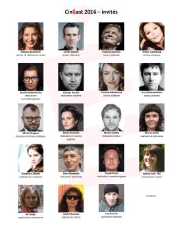 CinEast 2016 – invités