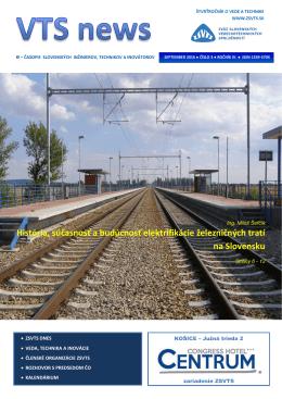 História, súčasnosť a budúcnosť elektrifikácie železničných