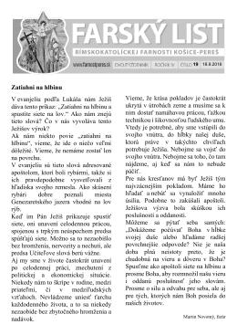 č. 19 - Rímskokatolícka farnosť Košice