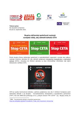 Skupiny občianskej spoločnosti vyzývajú európske vlády