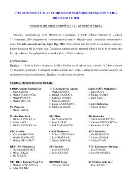 memoriál štefana sabola – budkovce 2002