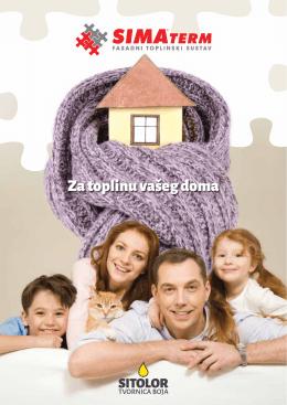 Za toplinu vašeg doma - Sitolor – Tvornica Boja