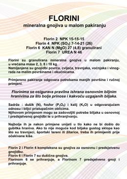 florini - Petrokemija