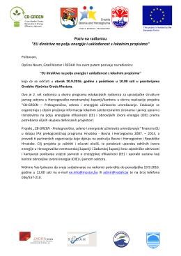 EU direktive na polju energije