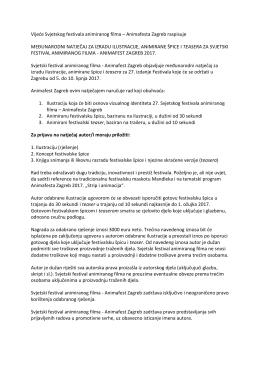tekst Međunarodnog natječaja