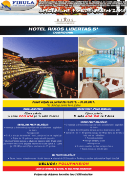 sheraton dubrovnik riviera hotel 5* hotel rixos libertas 5