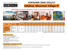 JollyKop Mountain Village 4*
