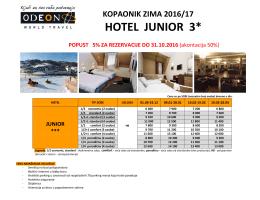 HOTEL JUNIOR 3*
