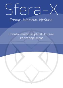 katalogu kurseva za srednje škole - Sfera-X