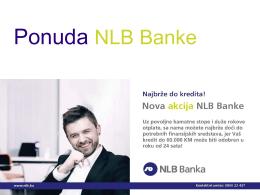Ponuda NLB Banke