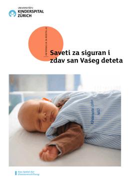 Saveti za siguran i zdav san Vašeg deteta