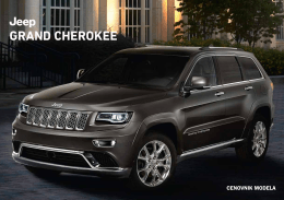 Jeep Grand Cherokee Cenovnik