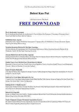 bolest kao put - index | book pdf