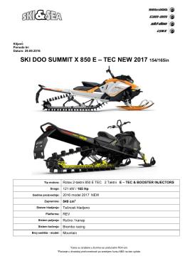 summit x 165 - PolovniAutomobili.com