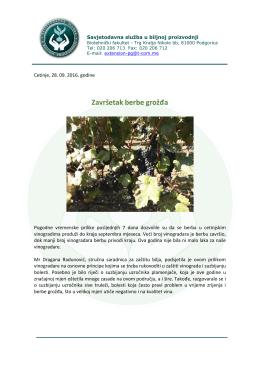 Opširnije... - Savjetodavna sluzba u biljnoj proizvodnji