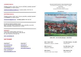 Chirurgické dni - 1. informácia - Nemocnica s Poliklinikou