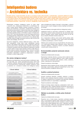 iDB Journal - Budovy, ATP Journal