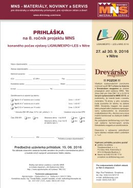 MNS - Drevársky magazín